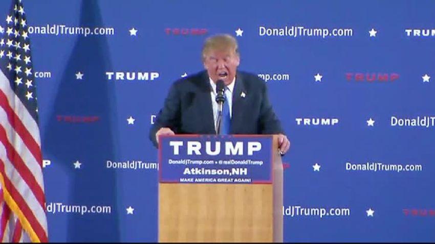 Donald Trump in N.H.