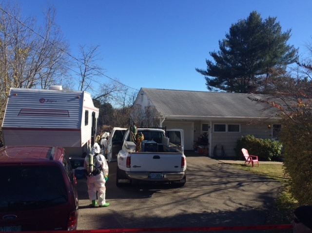 Wells, ME Camper and Home Meth Lab Investigation