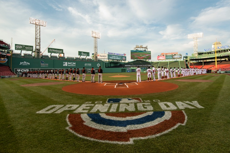 PHOTOS: 10 Unforgettable Images From the Red Sox Home Opener