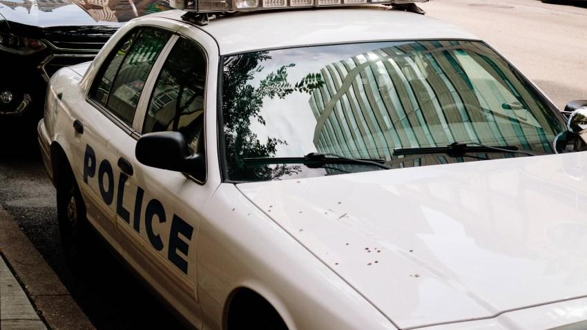 Cincinnati police vehicle
