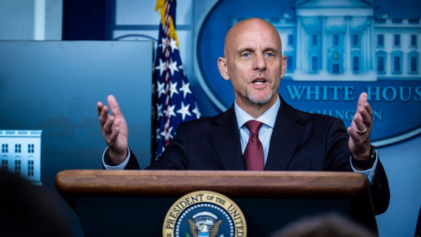 FDA Commissioner Stephen Hahn addresses the media during a press conference in James S. Brady Briefing Room at the White House on on August 23, 2020, in Washington, D.C.