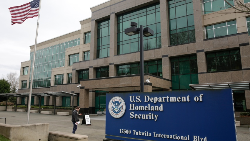 Department of Homeland Security (DHS) building in Tukwila, Washington on March 3, 2020.