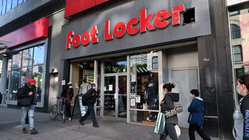 Foot Locker store in Manhattan