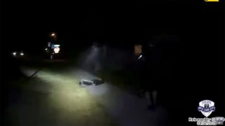 Salt Lake City police officers confront and shoot a 13-year-old boy on Sept. 4.