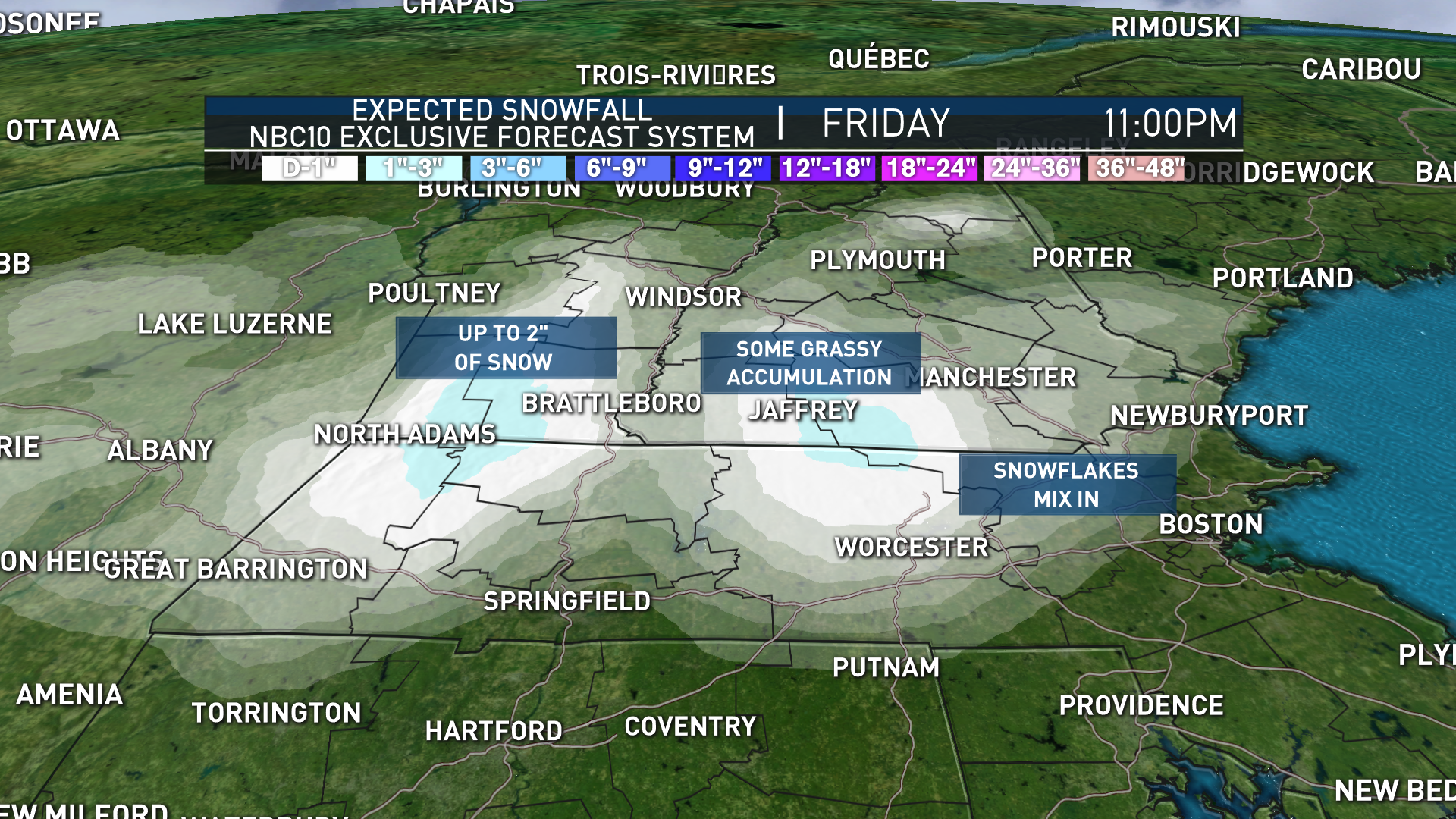 Ready or Not, Parts of New England Could See Snow Friday – NECN