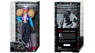 Elton John Barbie.