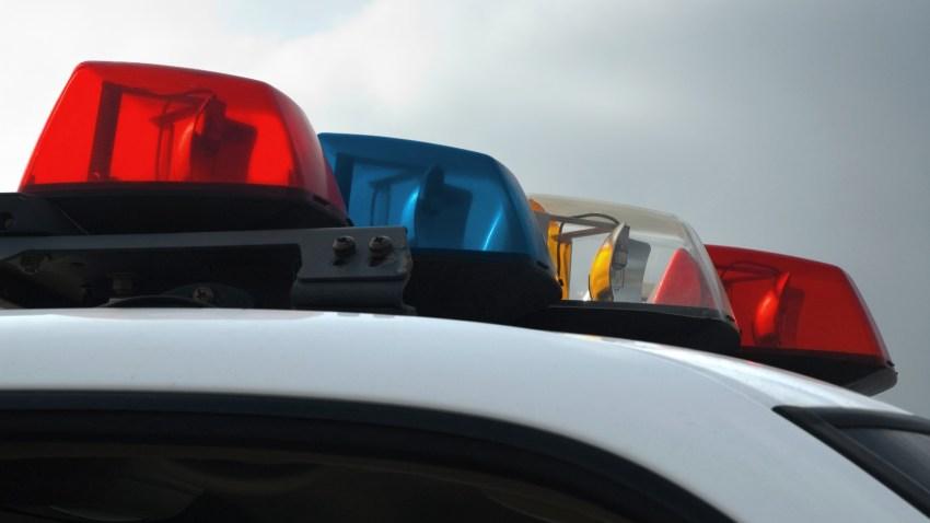 police lights generic