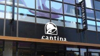 The Taco Bell cantina logo