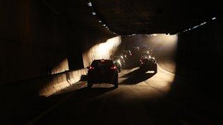 Boston highway traffic