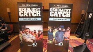 """Deadliest Catch"" promotional banners"