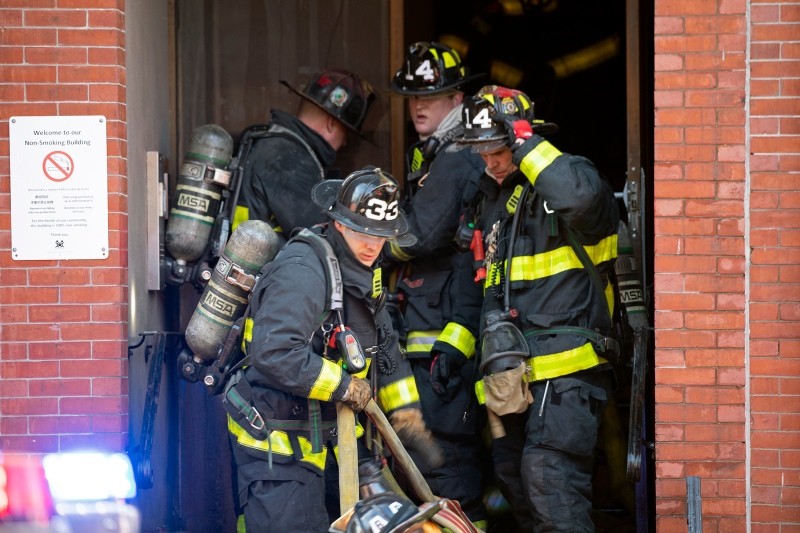 IMAGES: Firefighters Rescue 8 From South End Blaze