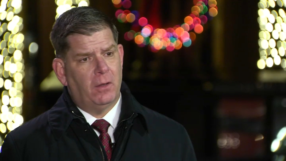 Walsh Gets Candid About the Toll This Pandemic Has Had on City of Boston – NECN
