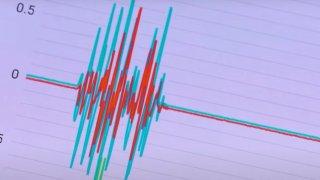 A MyShake display shows earthquake activity.