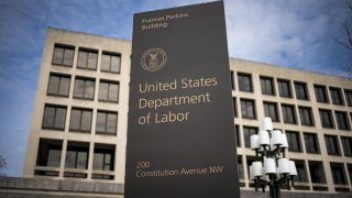 U.S. Department of Labor sign