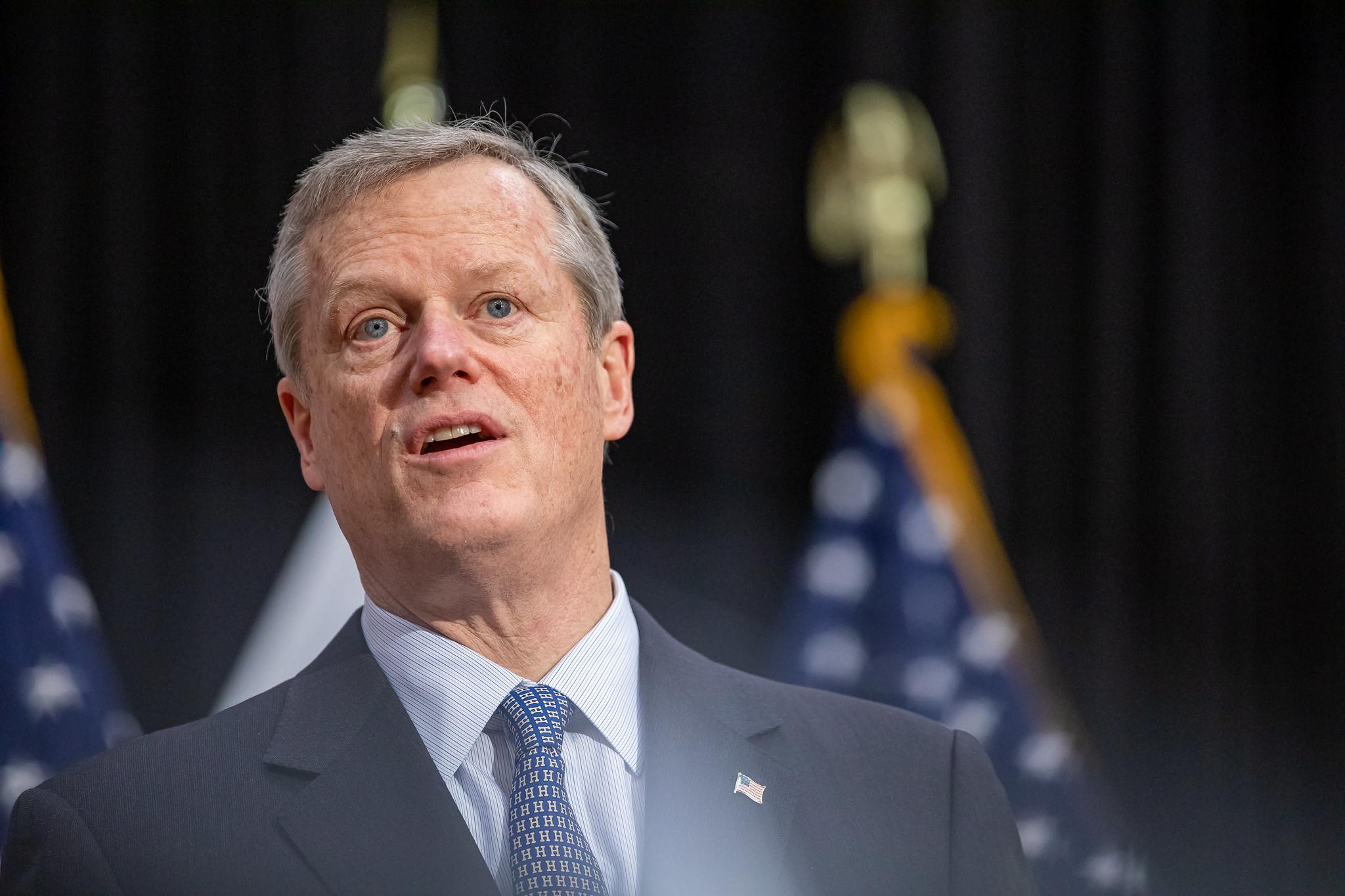 Governor Baker Press Conference – NECN