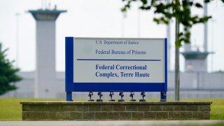 the federal prison complex in Terre Haute, Ind.