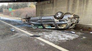 nh rollover crash