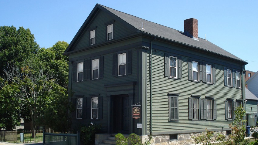 Lizzie Borden House Fall River