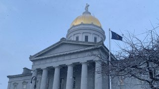 Vermont State House late 2020