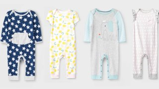 Some Cloud Island rompers sold at Target stores are being recalled.