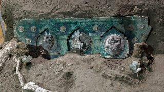 Italy Pompeii chariot