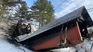 covered bridge collapse