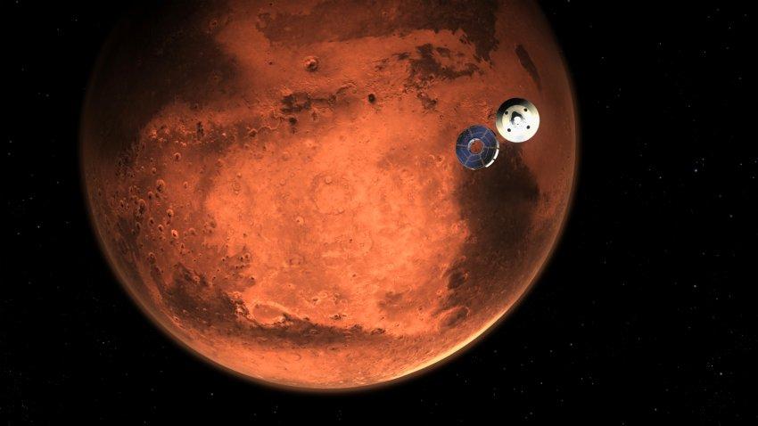 mars perseverance rover - NECN