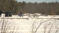 Small Plane Crashes, Flips off Runway in NH, 2 on Board Unhurt