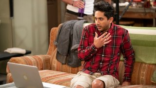 """In this image provided by CBS, Adhir Kalyan as Al appears in a scene from """"United States of Al."""""""