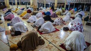 Tarawih Prayers Ahead Of Ramadan