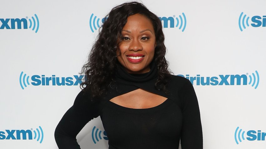 In this Feb. 28, 2019, file photo, Midwin Charles visits the SiriusXM Studios in New York City.