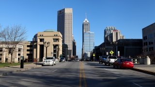 Indianapolis Cityscapes And City Views