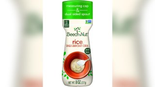 Beech-Nut Nutrition issued a voluntary recall on June 10, 2021, of one lot of Beech-Nut Stage 1, Single Grain Rice Cereal.