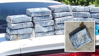 More than 30 kilograms of cocaine with a value topping $1 million were seized after washing ashore last month at the Cape Canaveral Space Station in Florida, according to the U.S. Space Force.