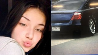 Teyanna Cuocolo was seen getting into this car on Tuesday, June 15, 2021, the day she went missing, police said.