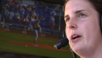 Portland Sea Dogs Have One of the Few Female Play-by-Play Announcers in Baseball