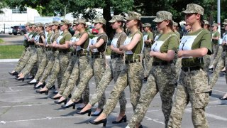 Ukraine Military Heels