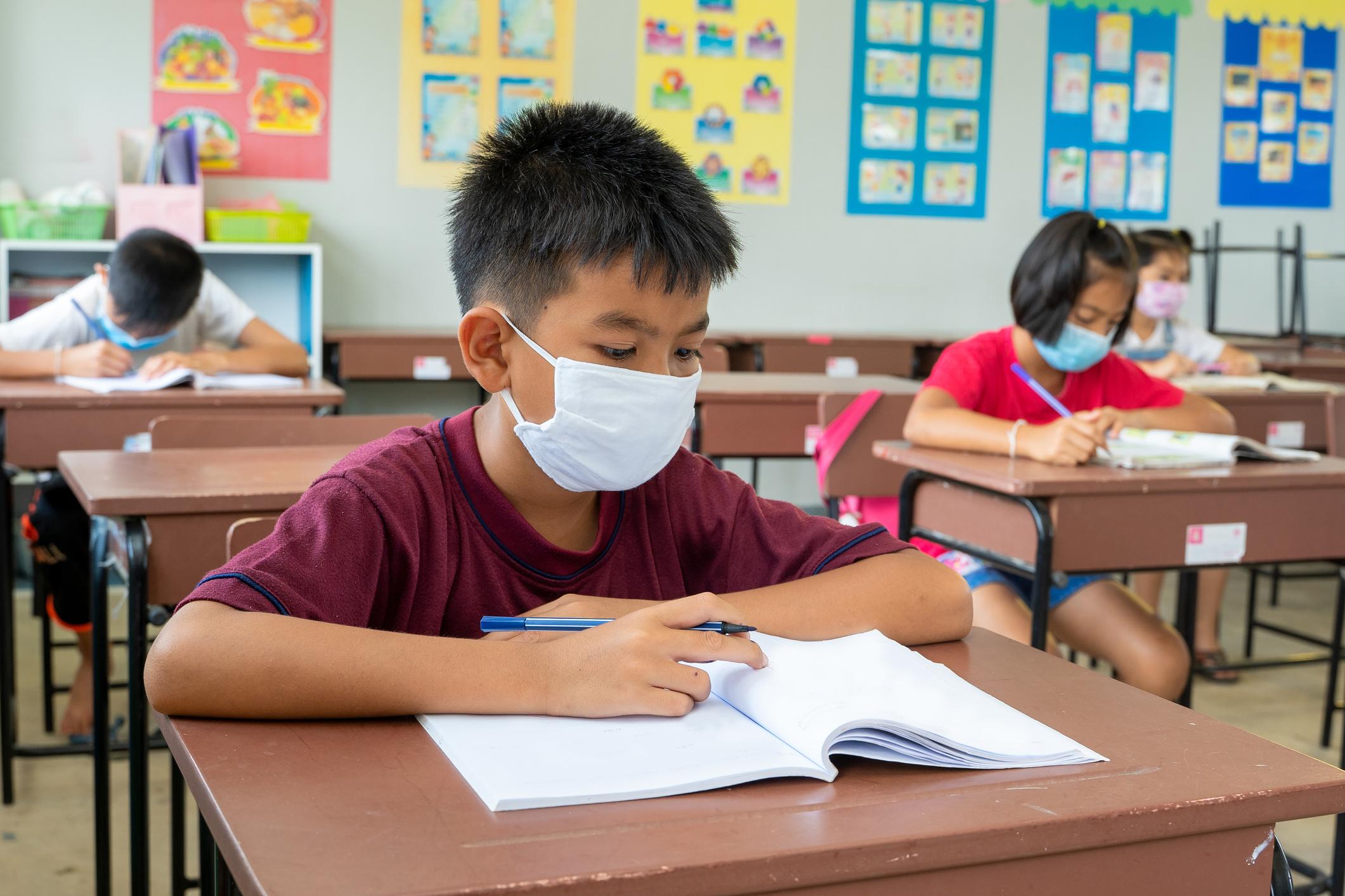 Boston Mayor Kim Janey Says Masks Required in School – NECN