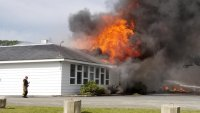 Fire Destroys Elementary School in Maine
