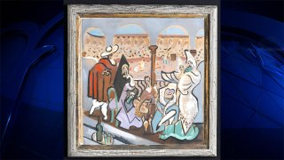 A Picasso painting found in a Maine home and successfully auctioned