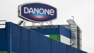 Dairy Products Manufacture At Danone SA's Russia Factory
