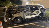 Two Police Cruisers Set on Fire in Dracut