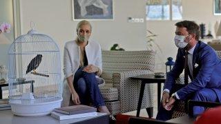 France ambassador mynah bird Juji Afghanistan