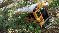 School Bus Crashes in Plaistow, NH, After Driver's Medical Emergency