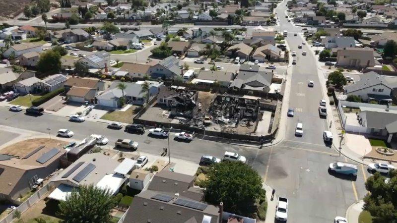 Photos: Small Plane Crashes in Santee, California