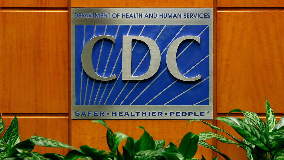 In this Oct. 5, 2014, file photo, a podium with the logo for the Centers for Disease Control and Prevention is displayed at the Tom Harkin Global Communications Center in Atlanta.
