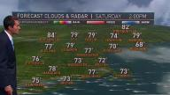 One More Nice Day, Then Tropical Downpours Close In