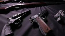 Man With Huge Weapons Cache Threatened to Kill Police, Obama