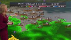 Wintry Weather Returns Sunday