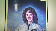Astronauts Teach McAuliffe's Lesson Plans in Her Honor